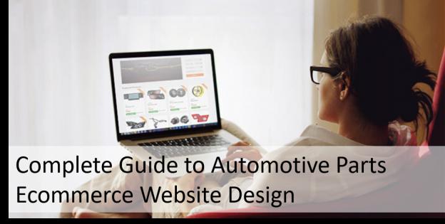 Automotive Ecommerce Website Design
