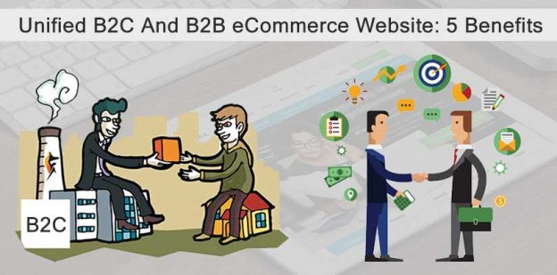 Unified B2C B2B Ecommerce Website